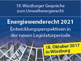 Energiewenderecht 2021 – Entwicklungsperspektiven in der neuen Legislaturperiode