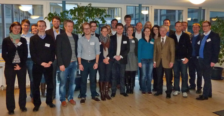 Die Teilnehmer des 1. Treffens des Doktorandennetzwerks Umweltenergierecht