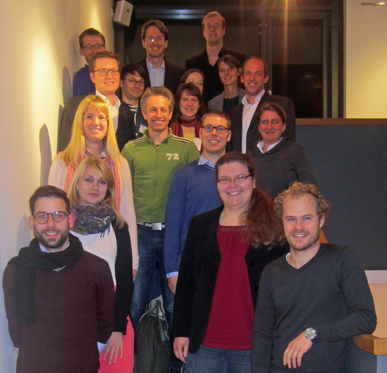 Die Teilnehmerinnen und Teilnehmer des 4. Treffens des Doktorandennetzwerks Umweltenergierecht