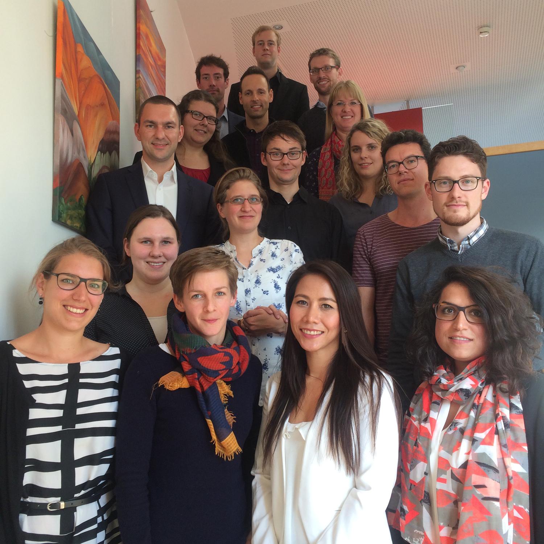 Die Teilnehmerinnen und Teilnehmer des 6. Treffens des Doktorandennetzwerks Umweltenergierecht