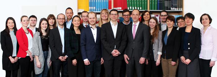 Mitarbeiter/innen der Stiftung Umweltenergierecht März 2016