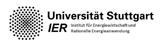 Universität Stuttgart – IER Institut für Energiewirtschaft und Rationelle Energieanwendung