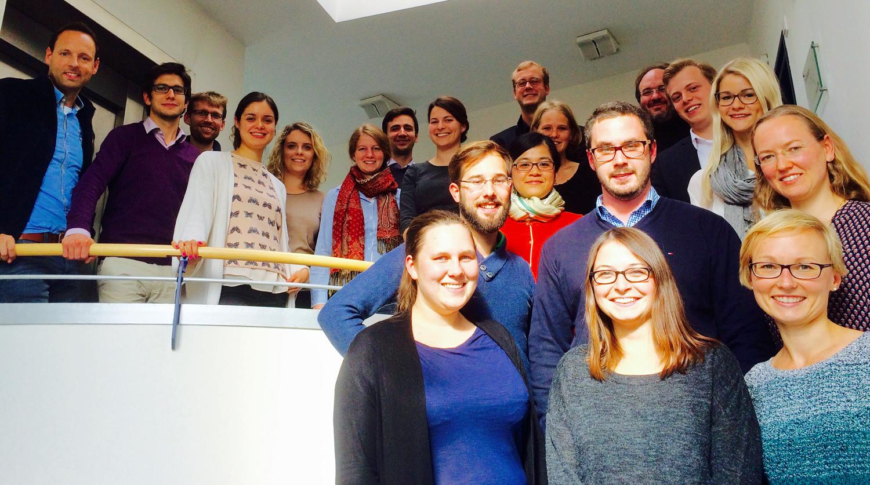 Die Teilnehmerinnen und Teilnehmer des 8. Treffens des Doktorandennetzwerks Umweltenergierecht