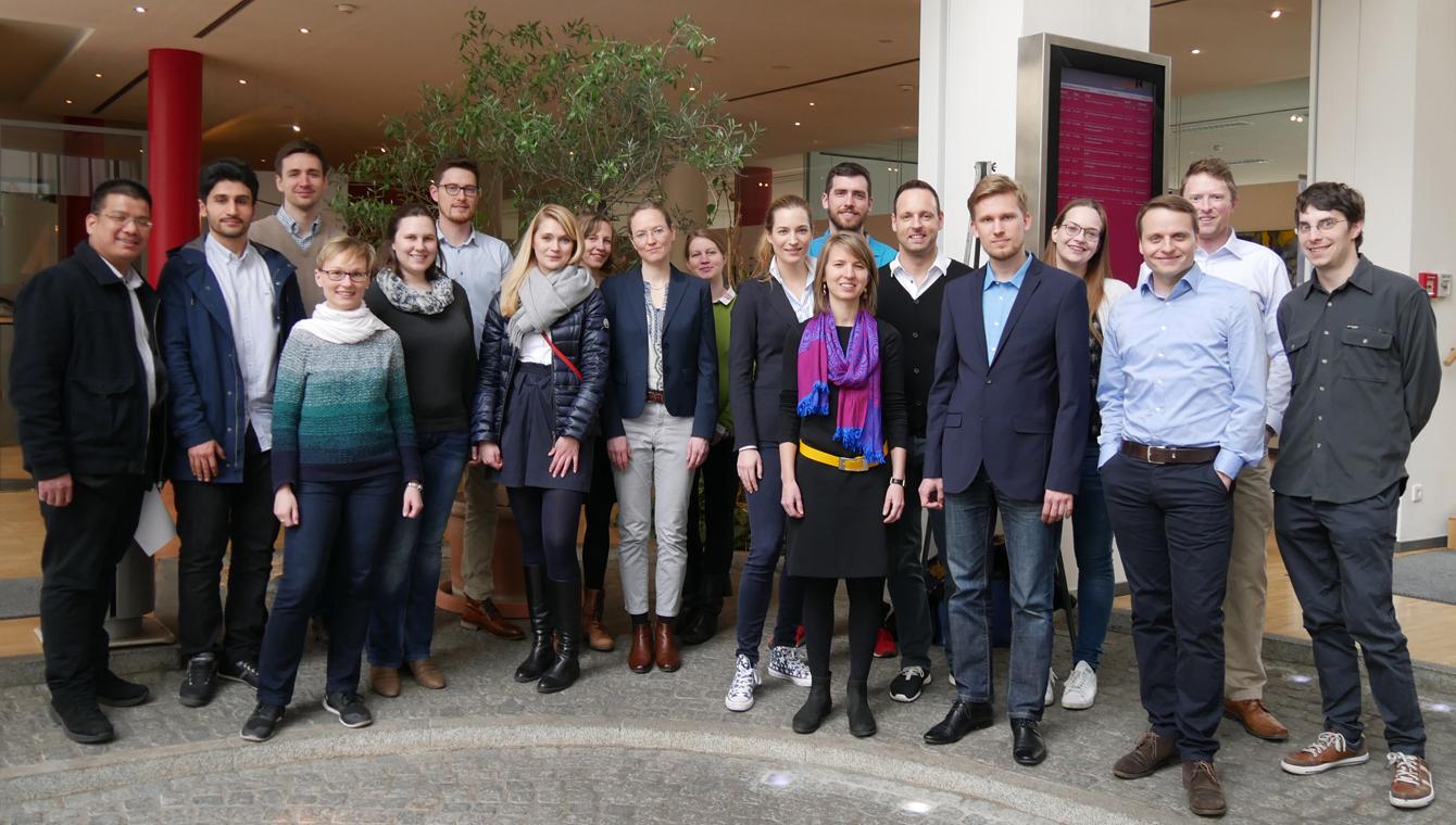 Die Teilnehmerinnen und Teilnehmer des 9. Treffens des Doktorandennetzwerks Umweltenergierecht