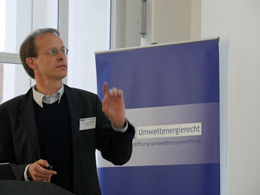 """Vortrag zu """"Die Rolle der Fernwärme für die Gebäudeenergieeffizienz – Potentiale und Aspekte einer Förderung im GEG oder KWKG"""" von Herrn Dr. Bernd Eikmeier"""