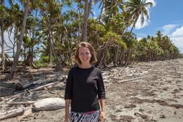 """Die Erfahrungen bei ihrer Reise nach Fidschi letztes Jahr im Rahmen eines Jugendaustauschs zum Thema """"Klimawandel"""" zeigten Anna Halbig die Dringlichkeit einer schnellen Energiewende (Foto: Shirin Engel)."""