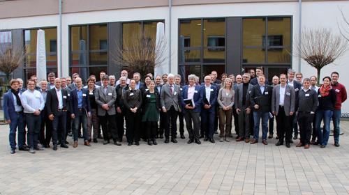 Die Teilnehmer des Workshops zur Umsetzung der Klima-, Verkehrs- und Energiewende in der Metropolregion Nürnberg