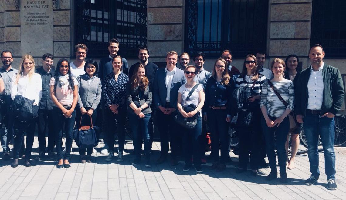 Die Teilnehmer/innen des 11. Treffens des DokNetz Umweltenergierecht