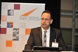 """Frank Sailer bei der 12. EUROSOLAR-Konferenz """"Stadtwerke mit Erneuerbaren Energien"""" in Nürnberg"""