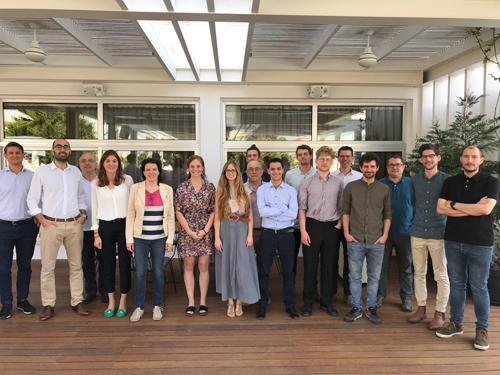 Die Teilnehmer/innen des Fortschrittstreffens der BestRES-Partner in Larnaka