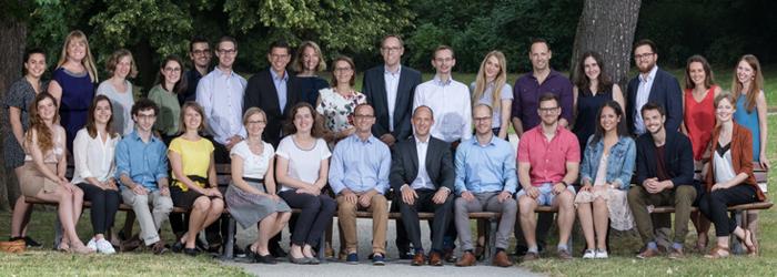 Mitarbeiterinnen und Mitarbeiter der Stiftung Umweltenergierecht im Juni 2018